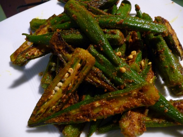 Spiced Okra Recipe — Dishmaps