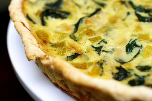 with leek with leek swiss chard swiss chard leek bacon rich spinach ...